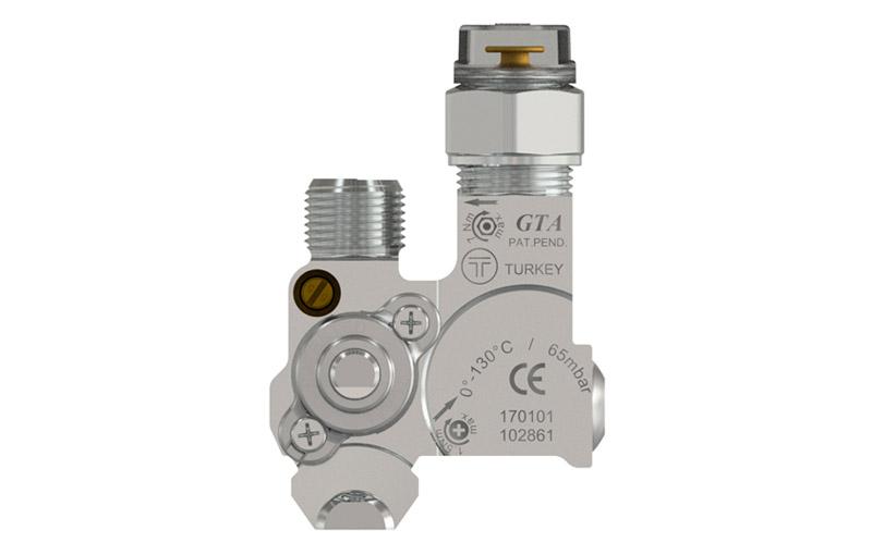 Built-In Hobs – Safety gas valves for hobs – Model Gta