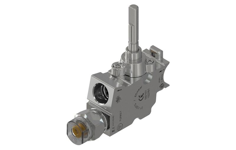 Built-In Hobs – Safety gas valves for hobs – Model Ptad